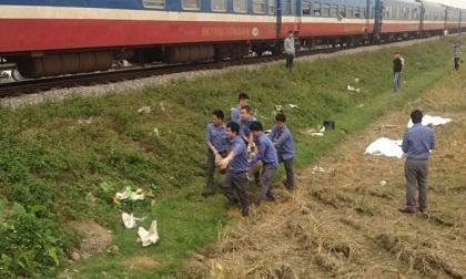 3 người văng xuống ruộng tử vong sau khi băng qua đường sắt