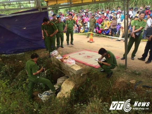 Vụ giết người rồi giấu xác xuống cống: Vợ hung thủ giúp chồng khiêng xác đi phi tang - Ảnh 2.