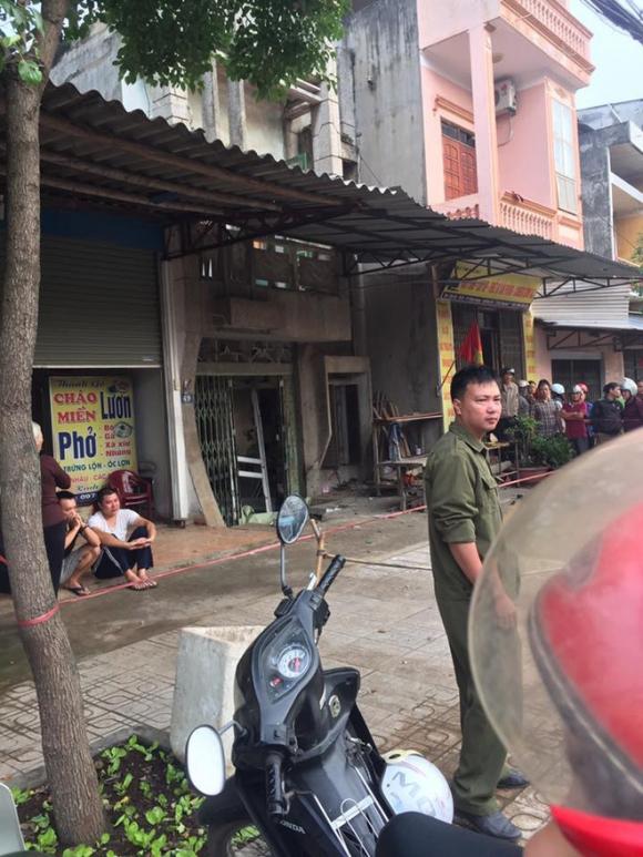 Nghi nổ mìn trước cửa nhà dân ở Thái Nguyên, một phụ nữ tử vong - Ảnh 1.
