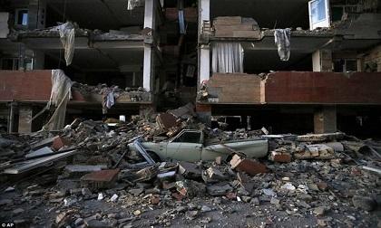 414 người chết, 6.500 bị thương vì động đất kinh hoàng ở Iran, Iraq