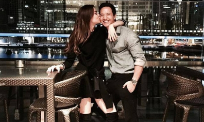 Hồ Ngọc Hà công khai đăng ảnh ôm hôn Kim Lý nhân ngày sinh nhật nam diễn viên