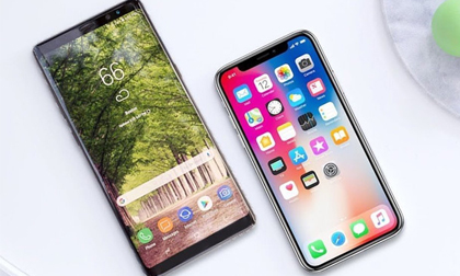 Note 8, iPhone X thống trị thị trường smartphone cao cấp VN