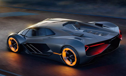 Lamborghini giới thiệu siêu xe tương lai Terzo Millennio