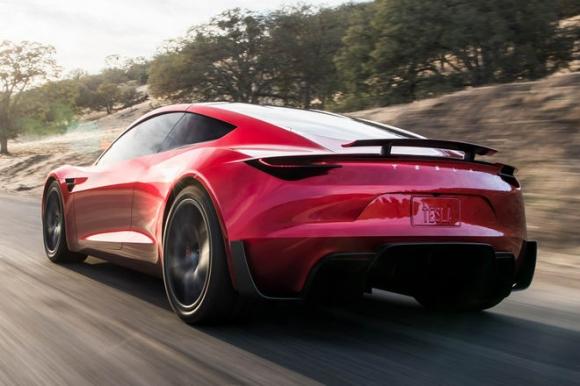 Xe điện Tesla Roadster nhanh hơn cả Bugatti Chiron - 2
