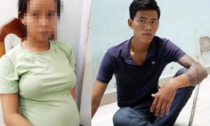 Chồng chở vợ bầu sắp sinh đi cướp tài sản ở trung tâm Sài Gòn