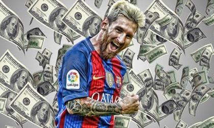 Số tiền giải phóng hợp đồng của Messi có thể mua gì?