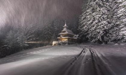 Lạc vào mùa đông kỳ diệu trên núi ở Ba Lan