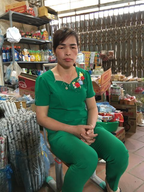Bà Liên cho rằng, bà không sẵn tiền để bồi thường cho gia đình nhà Tùng nhanh như vậy.