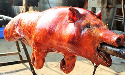 Lợn quay xứ Lạng – đặc sản ngon nức tiếng của núi rừng Đông Bắc