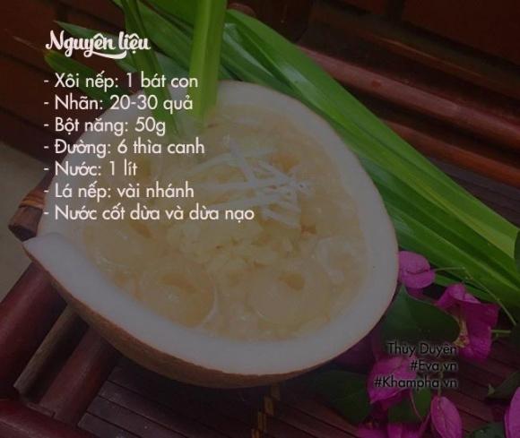 che nep nhan long nong hoi ngay dong - 1