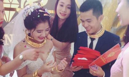 3 đám cưới ngập trong vàng từng 'gây bão' năm 2017