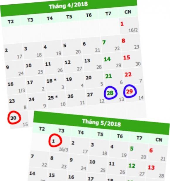 Ngoài Tết Nguyên đán, còn có nhiều kỳ nghỉ dài ngày trong năm 2018 - 4