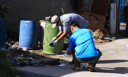 Tìm thấy nhiều phần thi thể nạn nhân nghi bị vợ cắt đầu bỏ thùng rác