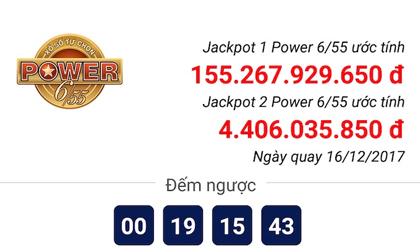 Xổ số Vietlott: Hôm nay, jackpot 1 của Power 6/55 sẽ lập kỷ lục 160 tỉ