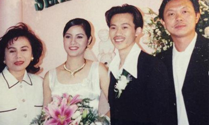 Thú vị khi xem lại loạt ảnh cưới 'xưa lắc xưa lơ' của sao Việt