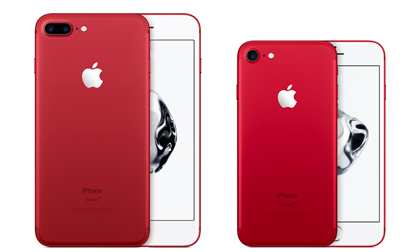 Top smartphone màu đỏ rực làm quà Noel 2017
