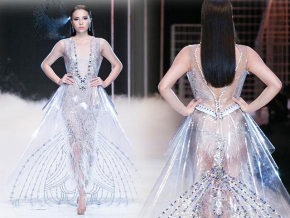 Hoa hậu Kỳ Duyên: Ngôi sao đường băng đắt show nhất năm 2017? - 1