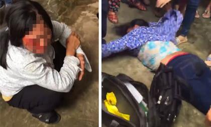 Đánh người vô tội, đốt xe… vì nghi bắt cóc trẻ em gây xôn xao năm 2017