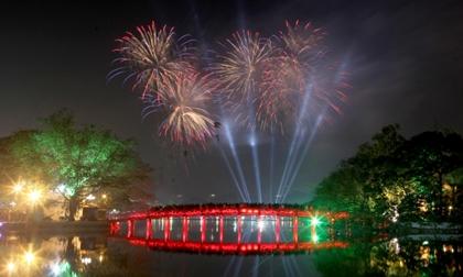 Tết Nguyên đán 2018: Hà Nội bắn pháo hoa tại 30 điểm