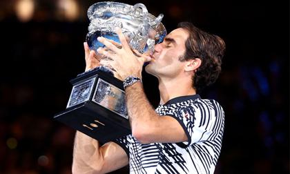Federer - ngôi sao MVP của làng quần vợt năm 2017