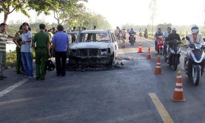 Diễn biến mới nhất vụ con gái đánh ghen hộ mẹ, thuê người đốt xe khiến cha tử vong