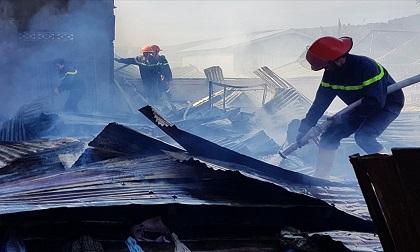 Ngày đầu năm, 4 căn nhà bị cháy rụi ở Lâm Đồng