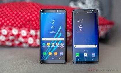 6 mẫu smartphone có màn hình tràn viền đáng mua nhất đầu 2018
