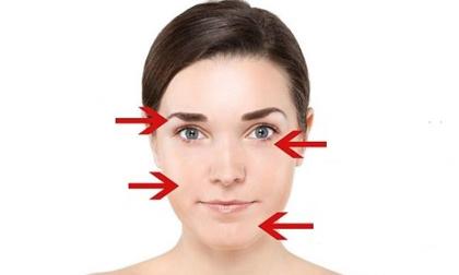 Thay đổi trên khuôn mặt báo hiệu tình trạng bệnh lý nghiêm trọng
