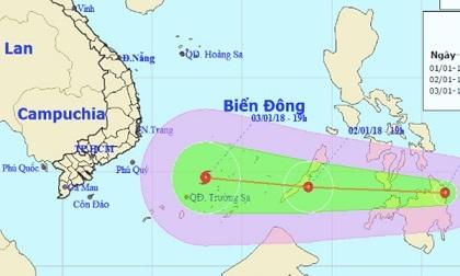 Dự báo thời tiết hôm nay 2/1: Áp thấp gần biển Đông, Sài Gòn nguy cơ ngập
