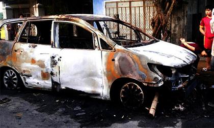 Chủ mưu trong vụ hỗn chiến, đốt ôtô ở Bình Định ra đầu thú