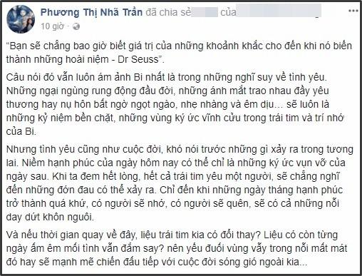 su that chuyen nha phuong tam su buon vi da chia tay truong giang? hinh anh 2