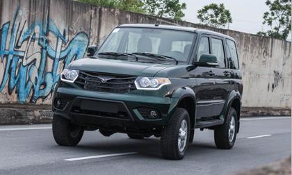 Xe Nga tại Việt Nam có giá từ 390 triệu đồng