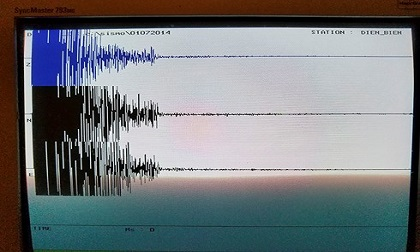 Xảy ra động đất 3,9 độ richter ở Điện Biên