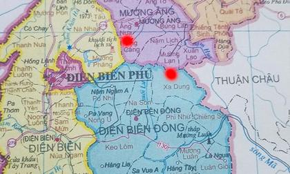 Lại động đất ở Điện Biên, cường độ 4,3 độ richter