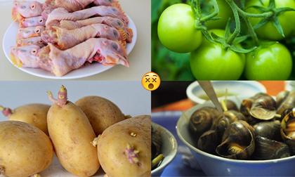 12 loại thực phẩm tuyệt đối đừng động đũa vì rất độc