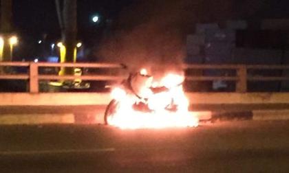 Nam thanh niên đốt xe máy rồi nhảy cầu Đồng Nai tự tử