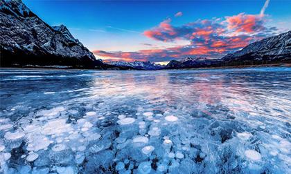 Chiêm ngưỡng những hồ băng đẹp mãn nhãn, tha hồ sống ảo