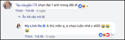 Ngó lơ dàn sao Việt hạng A, cô gái duy nhất được thủ môn Bùi Tiến Dũng thả thính thuộc về hoa hậu Đỗ Mỹ Linh-3