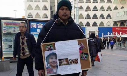 Cha mẹ bé Nhật Linh xin chữ ký ở Nhật Bản, tiếp tục đòi công lý cho con gái