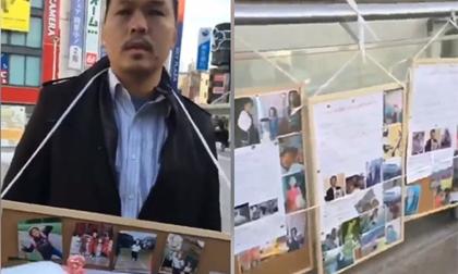 Gia đình bé Nhật Linh tổ chức các điểm tiếp nhận chữ kí ở Hà Nội
