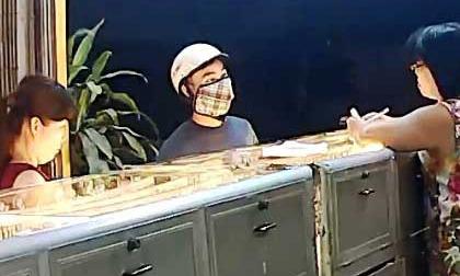 Vụ cướp tiệm vàng ở Bình Dương: Lộ mặt nghi phạm