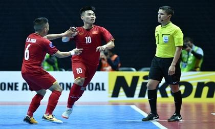 Ngược dòng đẳng cấp, futsal Việt Nam đại chiến Uzbekistan tại tứ kết châu Á