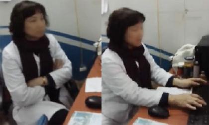 Xôn xao clip 'tố' bác sĩ BV Mắt Trung ương có thái độ không đúng mực với bệnh nhân