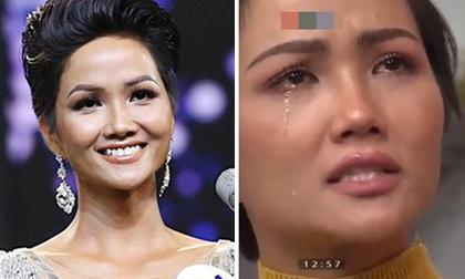 Hoa hậu H'Hen Niê bật khóc nức nở vì lộ sự thật bị giấu kín bấy lâu nay
