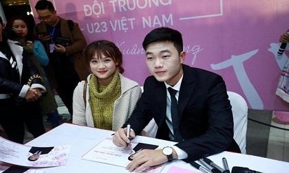 Hốt hoảng với gương mặt 'đắp bột' của đội trưởng U23 VN Xuân Trường