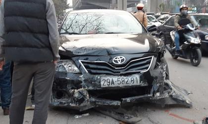'Xe điên' gây tai nạn kinh hoàng trên đường Trần Phú chiều 28 Tết