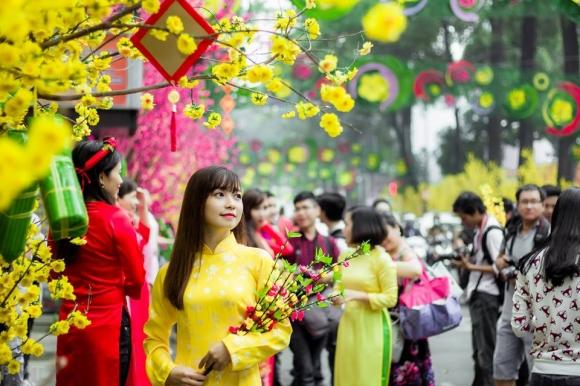 5 địa điểm chụp ảnh Tết đẹp nhất cho giới trẻ Sài thành - 1