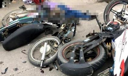 Hai xe máy đấu đầu, 3 người tử vong tại chỗ