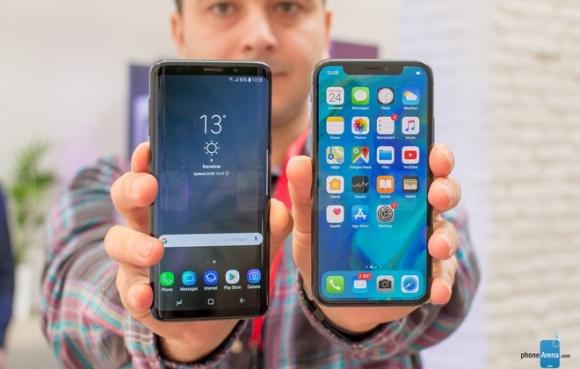 Galaxy S9 đọ dáng cùng iPhone X: Song long tranh bá - 4