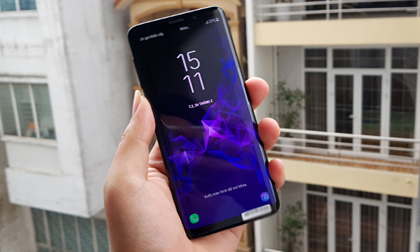Trên tay Galaxy S9 tại Việt Nam, chiếc smartphone giá bằng nửa cây vàng